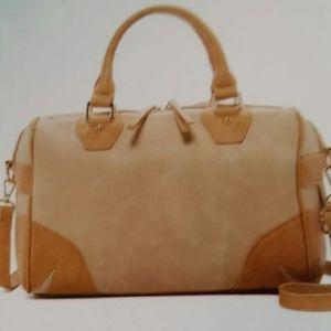 16270 Satchel Khaki color new.by pink haley